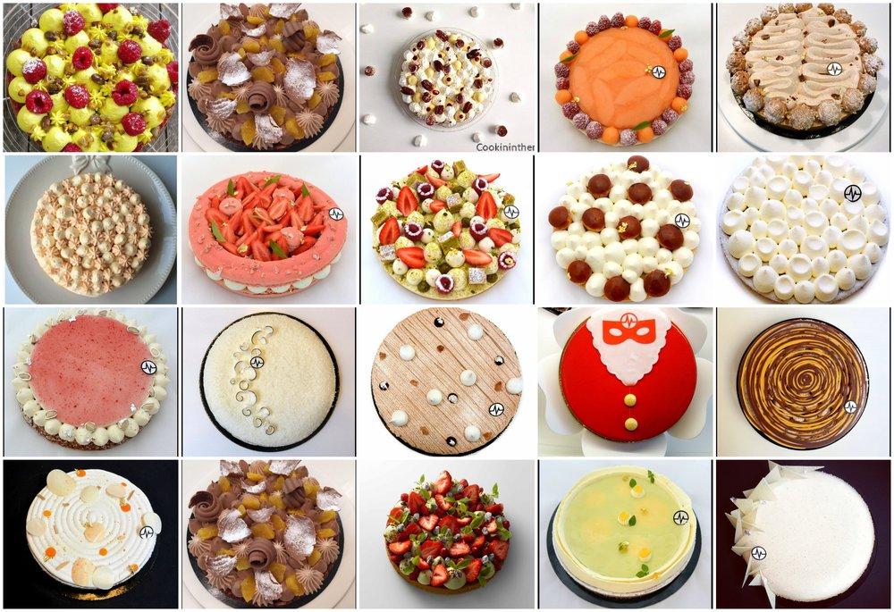 圖5. Fantastik 系列甜點(圖片來源:Christophe Michalak 的 Facebook 照片 )
