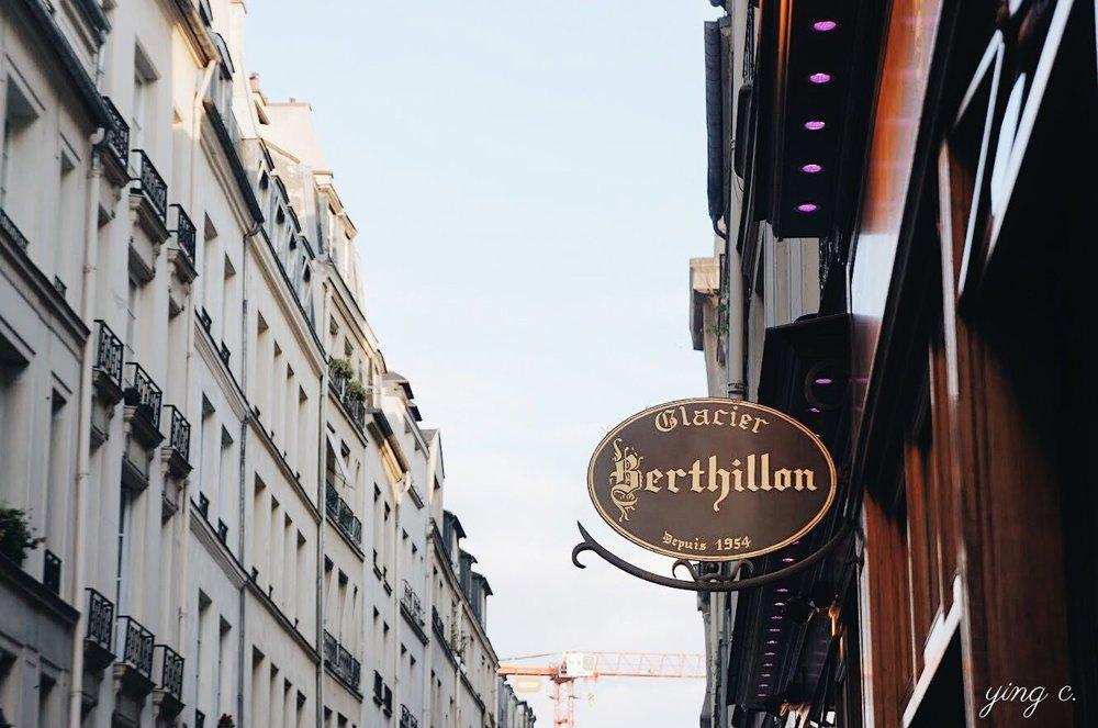 自1954年至今,每天堅持以高標準製作冰淇淋的巴黎老店Berthillon。