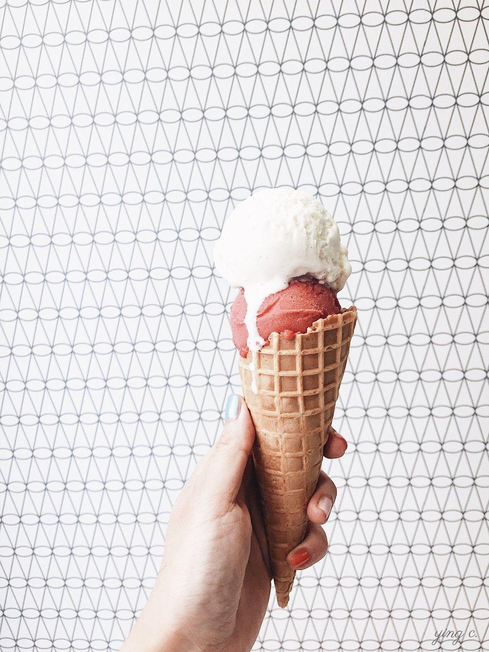 由MOF冰淇淋師監製,Une Glace à Paris的冰淇淋口味都相當高級夢幻。