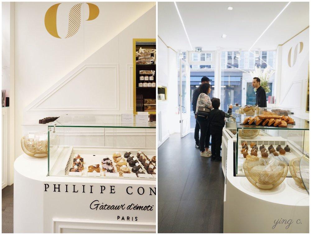 Philippe Conticini主廚今年9月在甜點激戰區開幕的新店「Gâteaux d'émotions」。