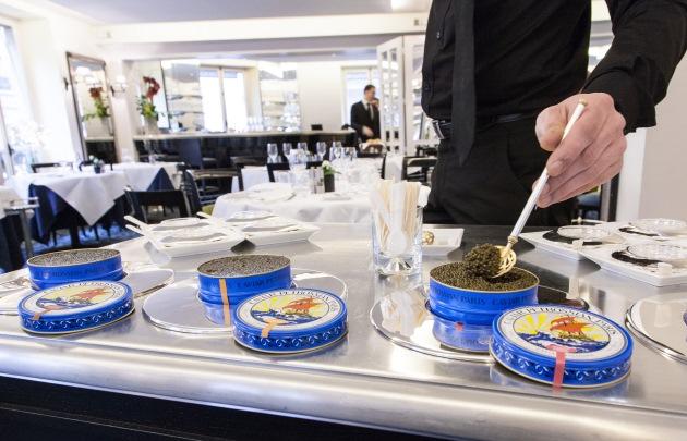 Philippe Conticini 曾經擔任主廚與總監的  Restaurant Petrossian Le 144 ,以魚子醬聞名。(照片來源: 巴黎官方旅遊局 網頁)