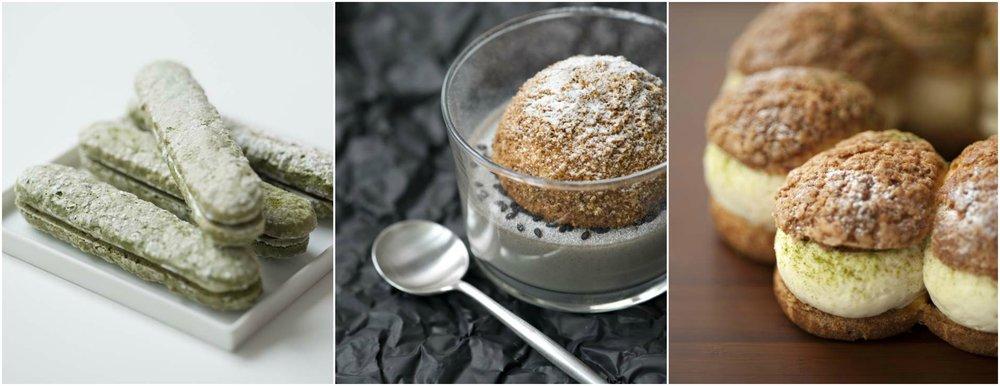 La Pâtisserie des Rêves 在 2012 年進軍大阪與京都的時候,Philippe Conticini 也運用了許多日式食材如抹茶、紅豆、黑芝麻等創作了不少甜點。(圖片來源: Alambic magazine )