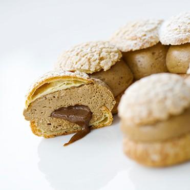 讓 Michalak 也自嘆不如的巴黎・布列斯特泡芙,是 Philippe Conticini 的招牌甜點之一,目前在 La Pâtisserie des Rêves 仍然可以買到。(圖片來源: La Pâtisserie des Rêves 官網 )