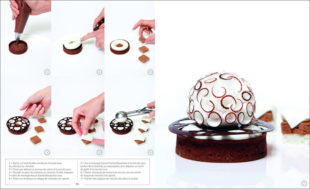 Claire Heitzler 細膩精準的的甜點設計與製作手法。 Photo  Amazon.fr