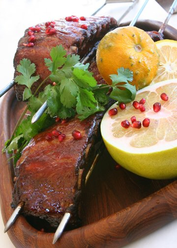 Hoisin Glazed BBQ Ribs