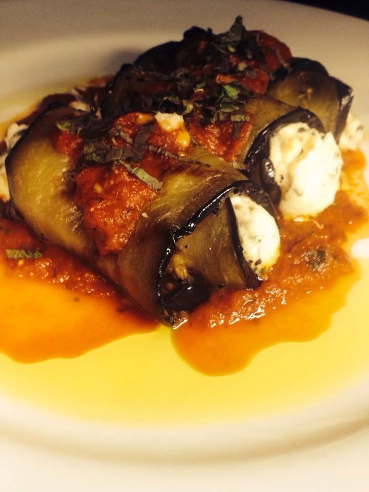 Eggplant Rolotini