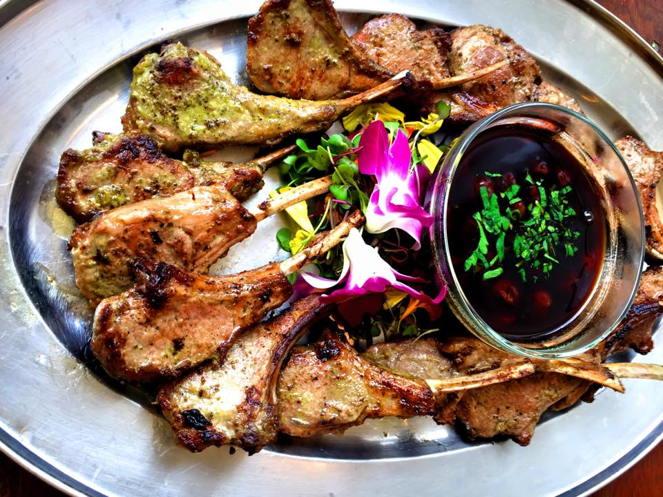 Rosemary Rubbed Baby Lamb Chops