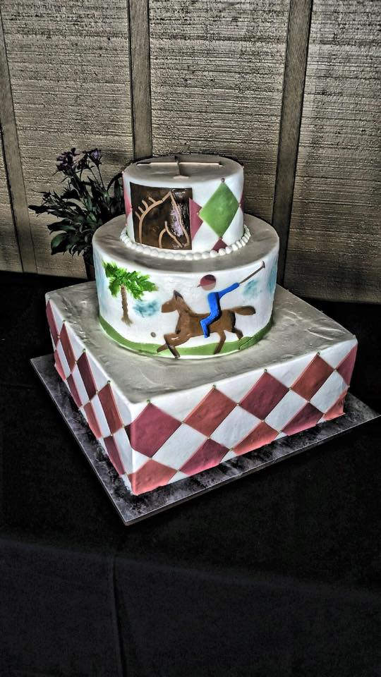 Polo Grill Themed Cake