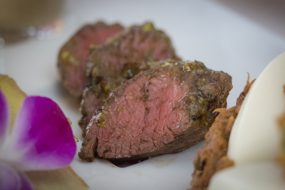 Grilled Lime-Curry Rubbed Hanger Steak