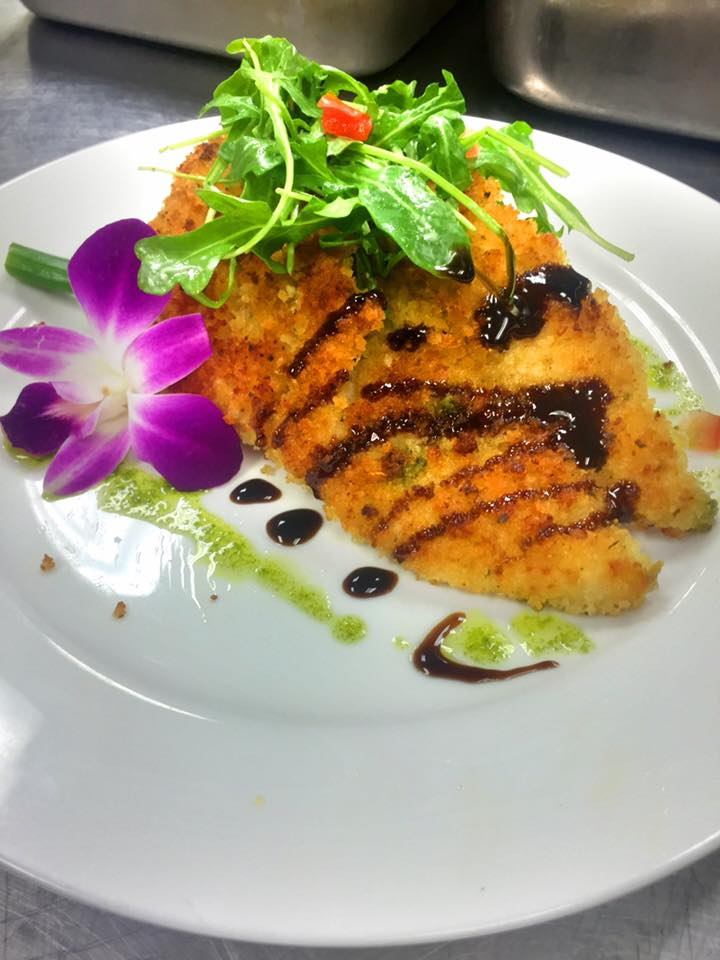 Breast of Chicken Milanese