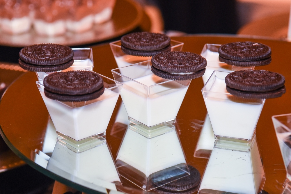 Oreos with Milk Shooters