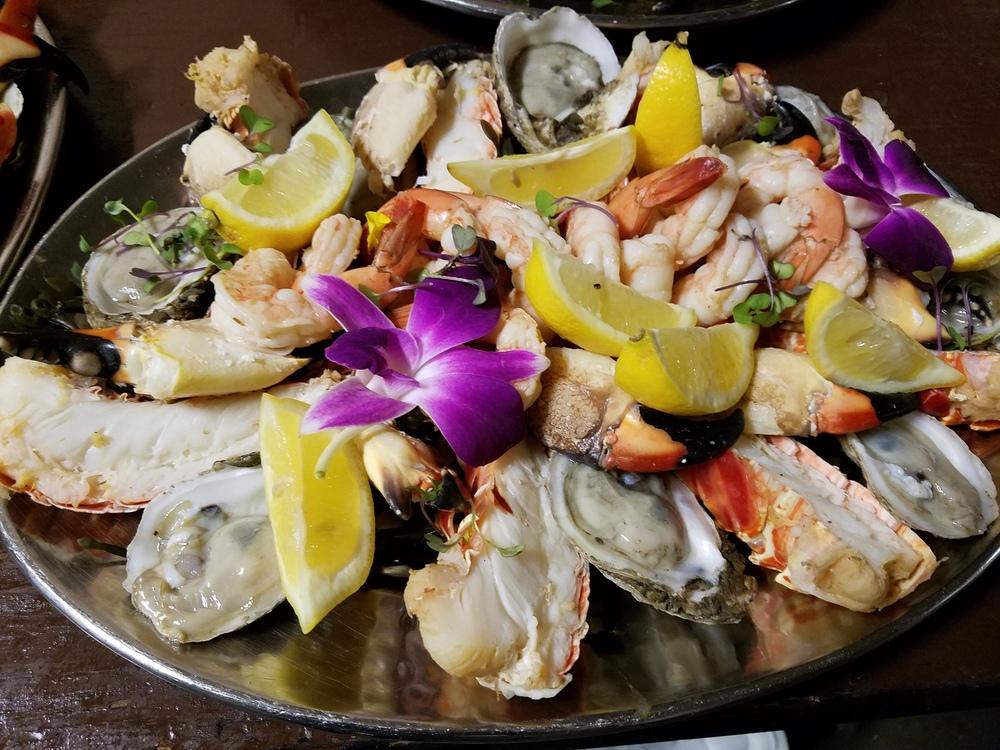 Jumbo Seafood Platters