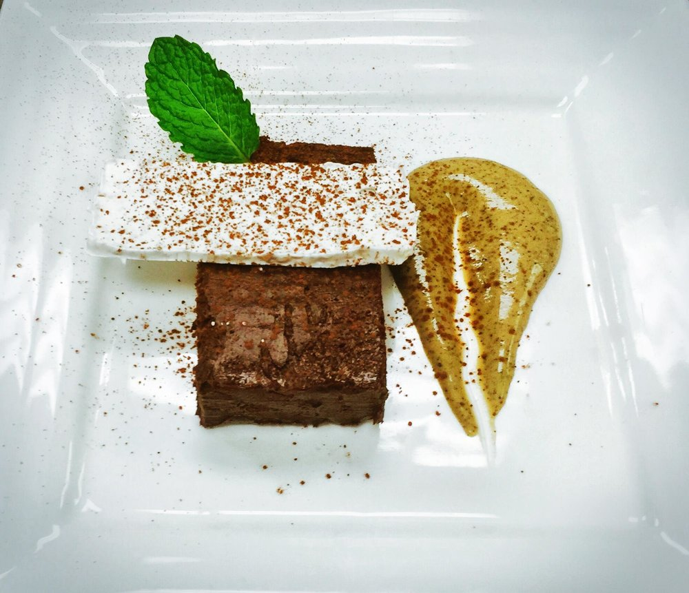 Dark Chocolate Terrine