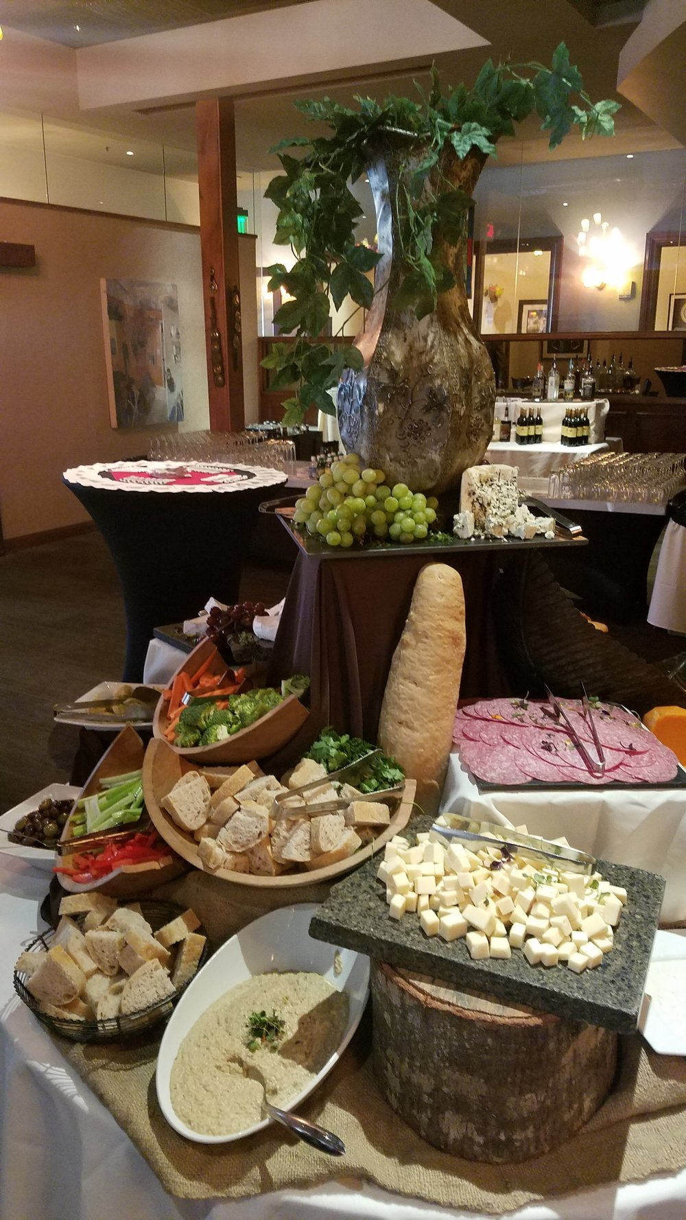 Fabulous Fete Cheese & Antipasto Display