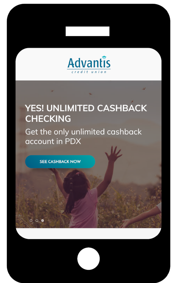 Cashback Checking Home Page Banner