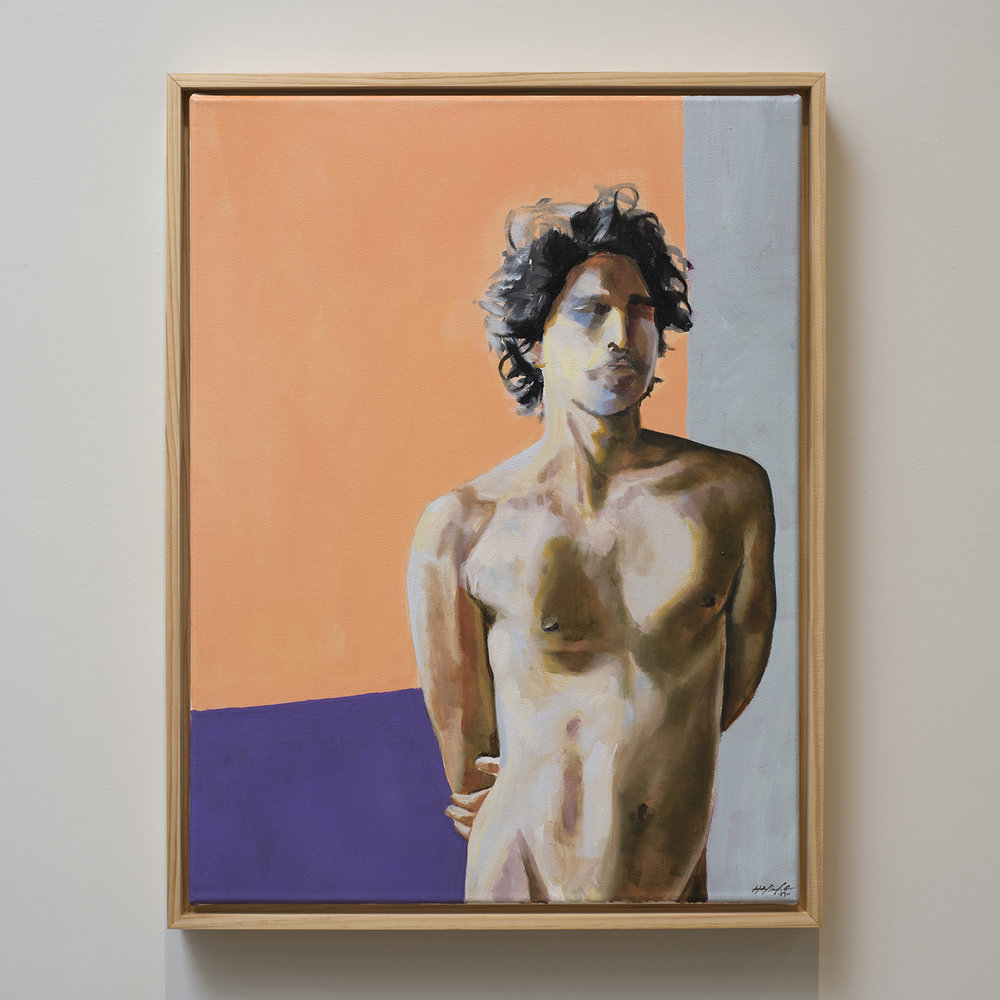 small_ryan-haylee-18x24-Standing Male Nude-oil and acrylic on canvas-$1400-2017.jpg