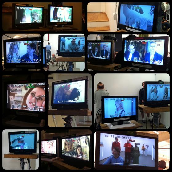 Monitors.