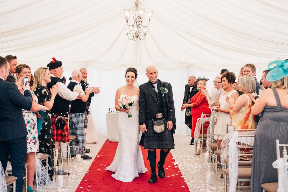 cornhill castle wedding photographer
