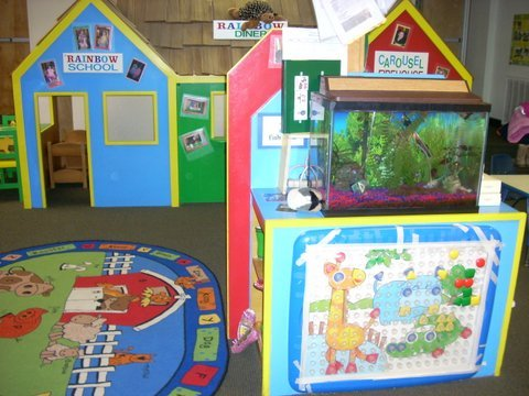 The Learning Center space for Preschool age.