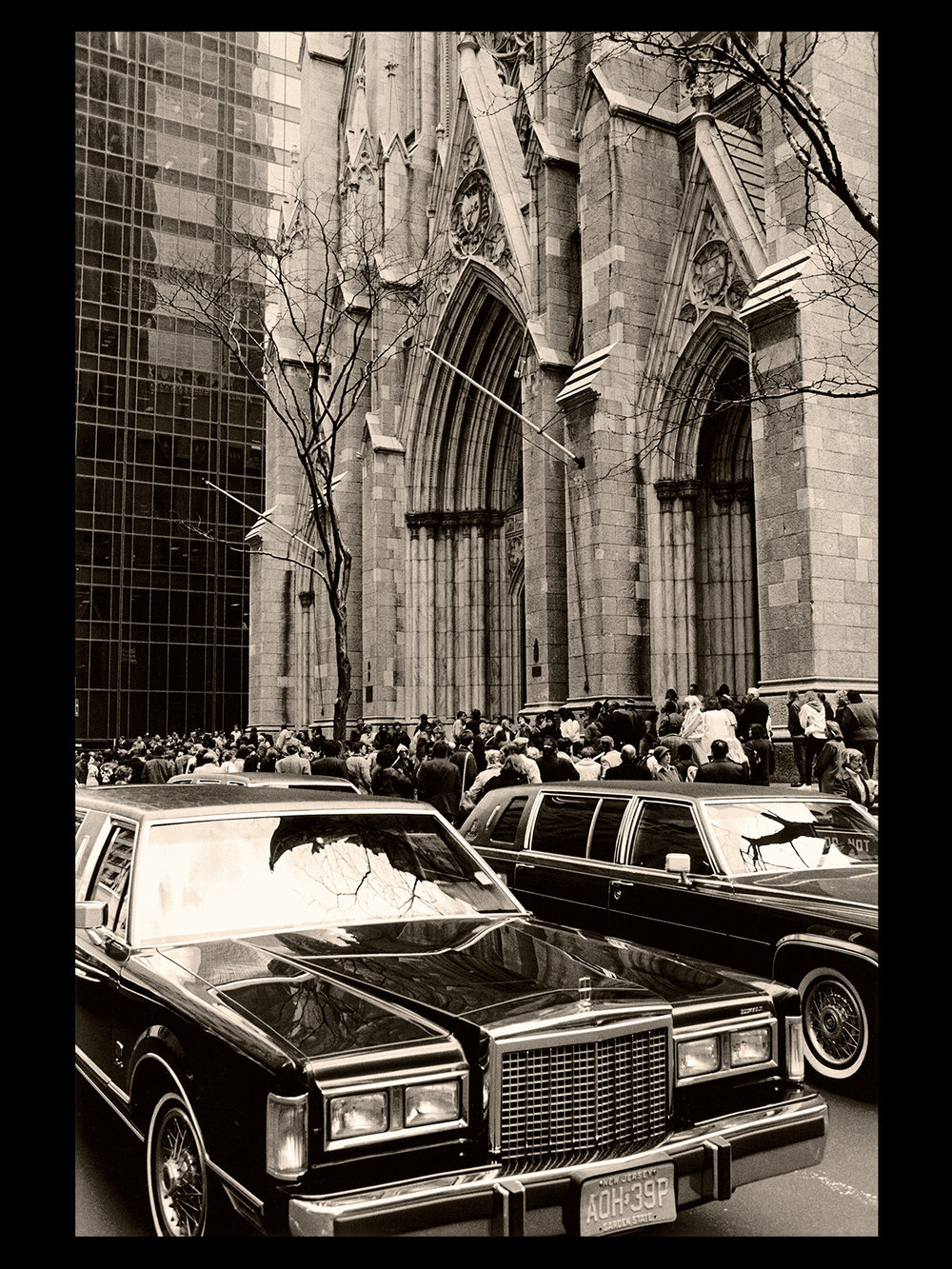 St. Patrick's Cathedral,  April 1st, 1987