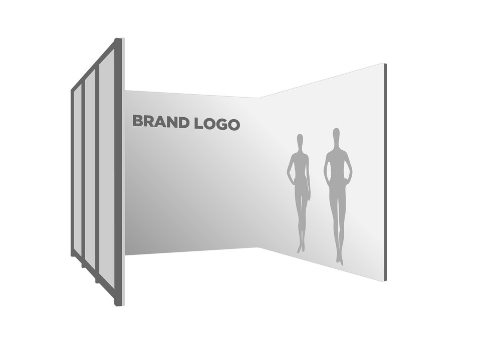 Trade Show Logo, Paper and Graphics
