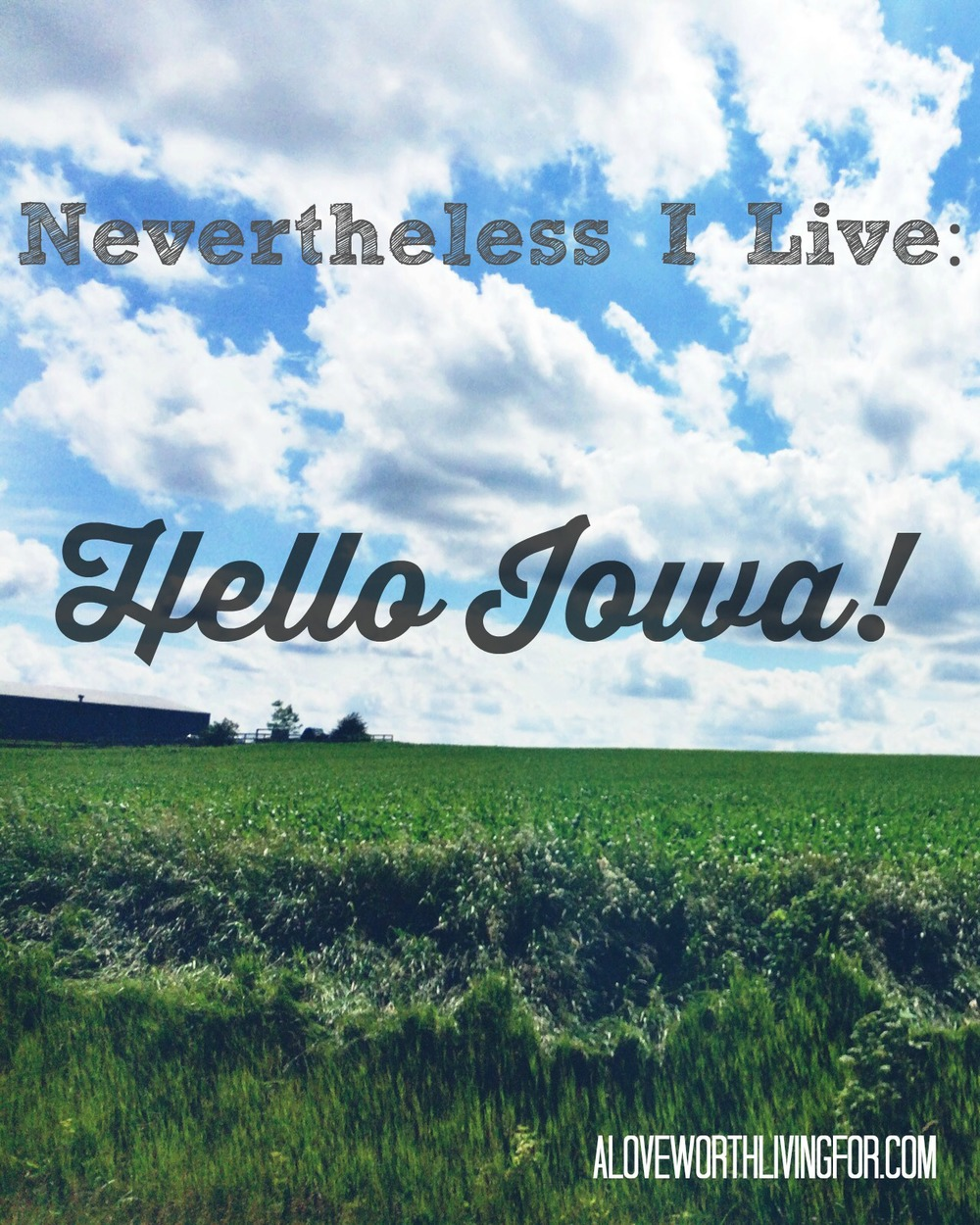 A Love Worth Living For - Nevertheless I live - Hello Iowa Thumbnail