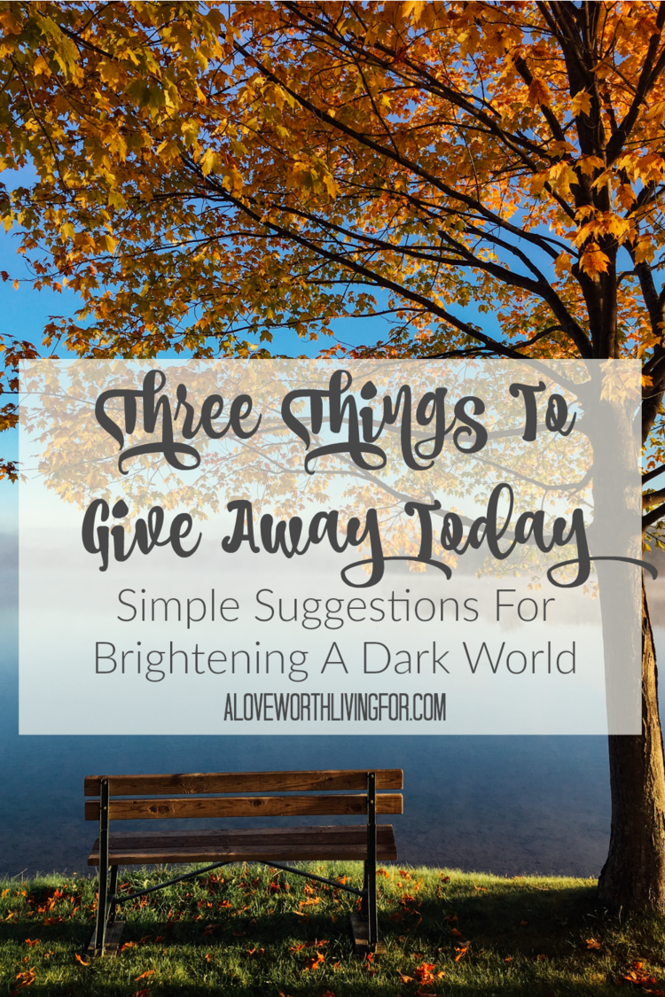 Three Things To Give Away Today We All Want To Know How To Be Happy Three