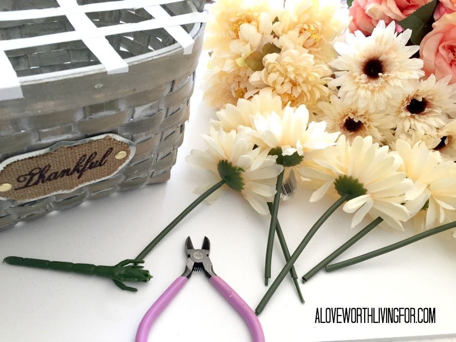 Easy Floral Fall Center Piece DIY by A Love Worth Loving For 005.jpg