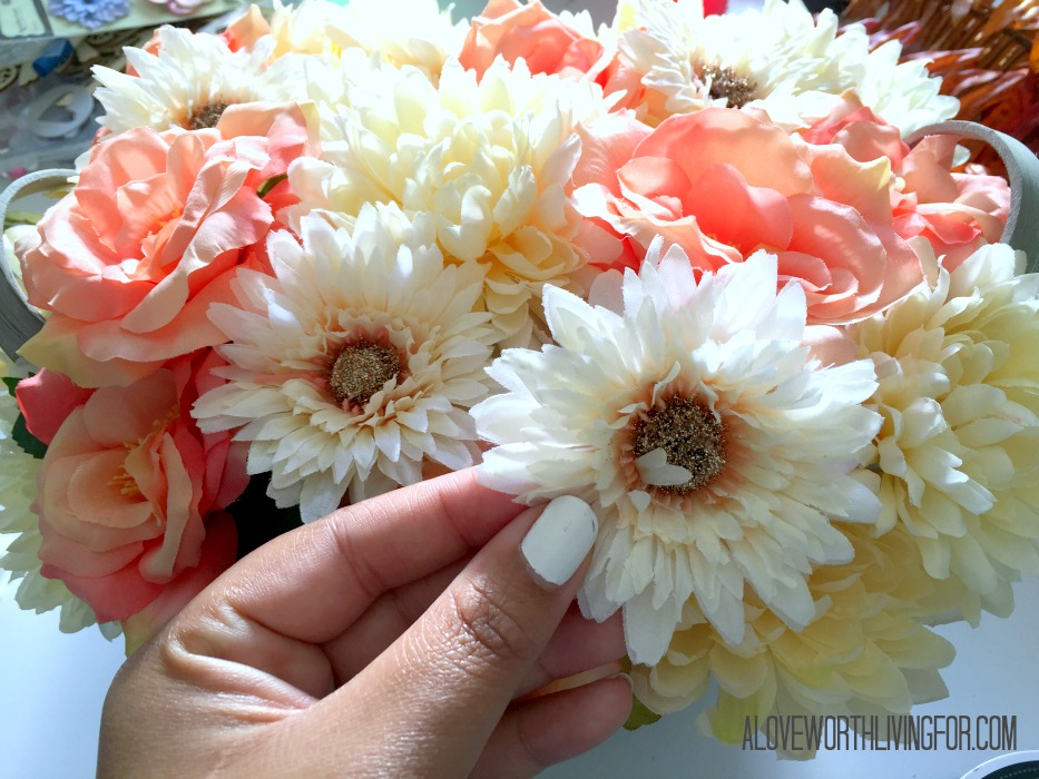 Easy Floral Fall Center Piece DIY by A Love Worth Loving For 008.jpg