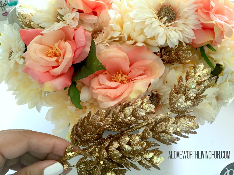 Easy Floral Fall Center Piece DIY by A Love Worth Loving For 011.jpg