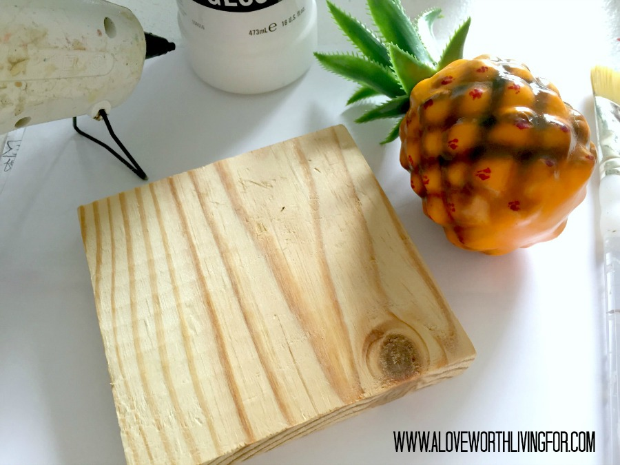 DIY Metallic Bookcase Decor - Golden Pineapples by A Love Worth Living For 010.jpg