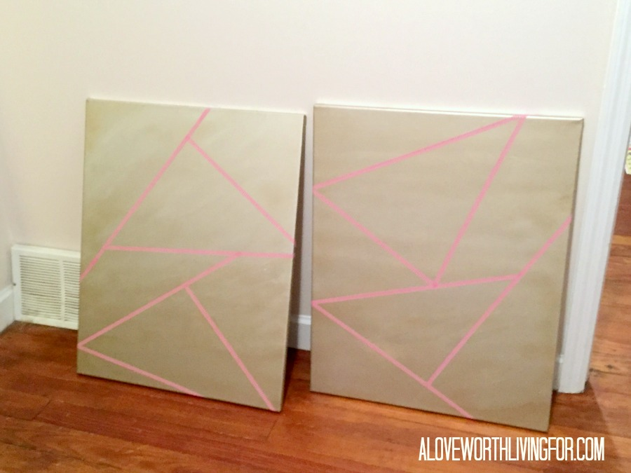 Metallic Wall Art DIY by A Love Worth Living For 005.jpg