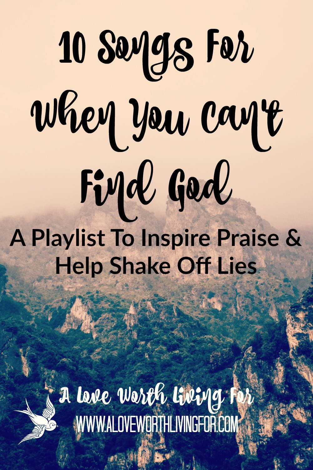 A common lie that attack is the lie that we are all alone. One of the best ways to combat lies and change your perspective and atmosphere is through praise. Here are ten songs that will help you fight back the darkness and release praise and thanksgiving in your heart.