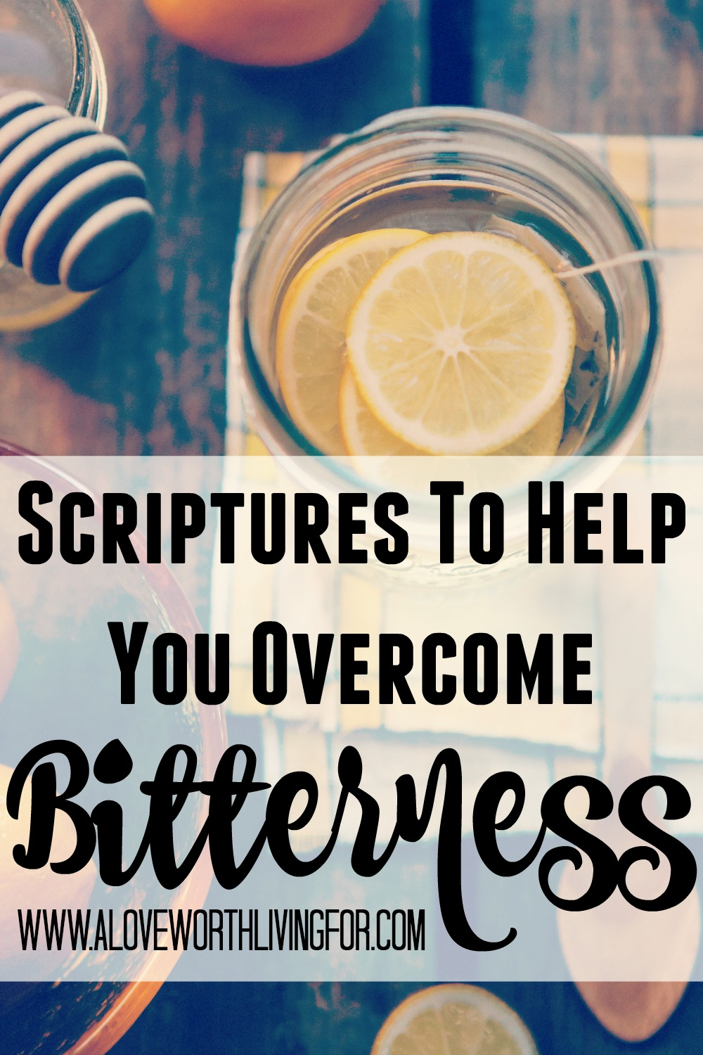 Bitterness is a poison that, if left unchecked, will spread and wreak havoc on your life. Sweeten up you life with these verses on how to overcome bitterness and live life free!