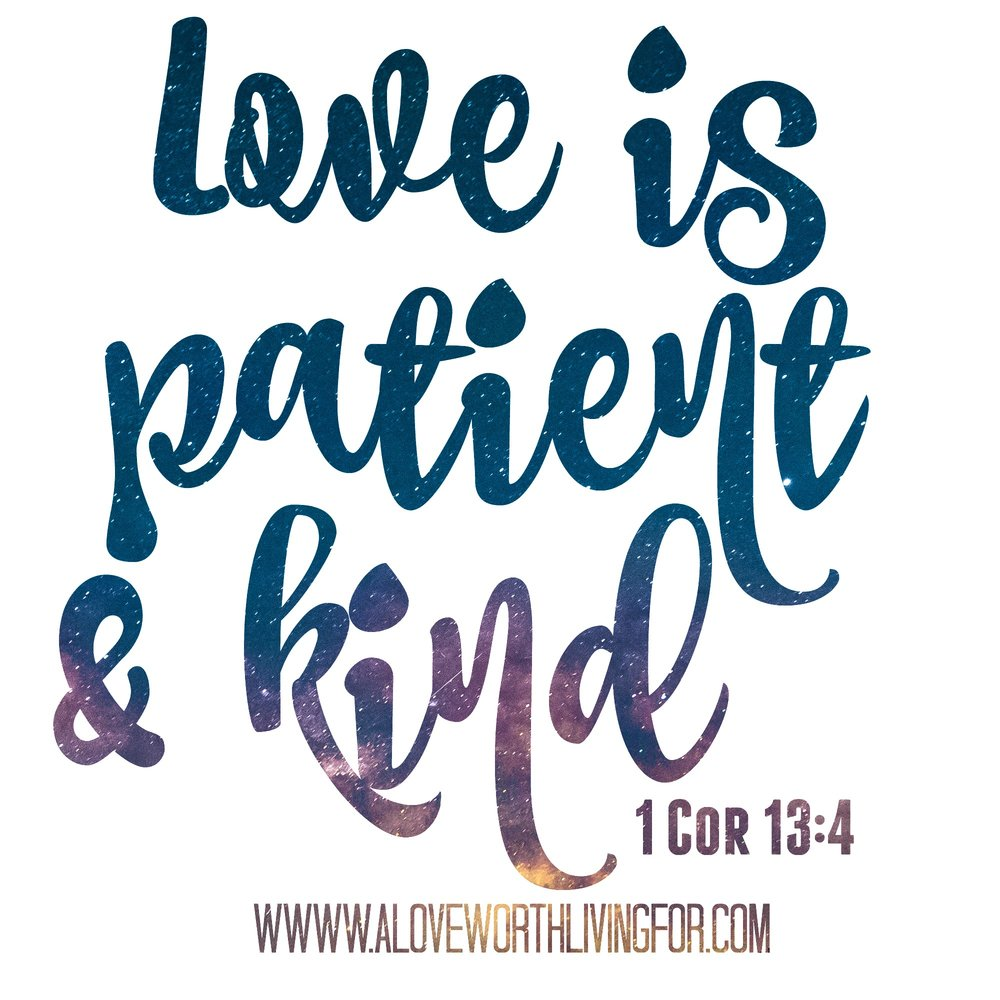 The Bible says that love is patient and love is kind. We are called to love people in this way but why is that so hard to do? The key is in receiving. This Bible study focuses on how to receive love from God and how to share it with others.