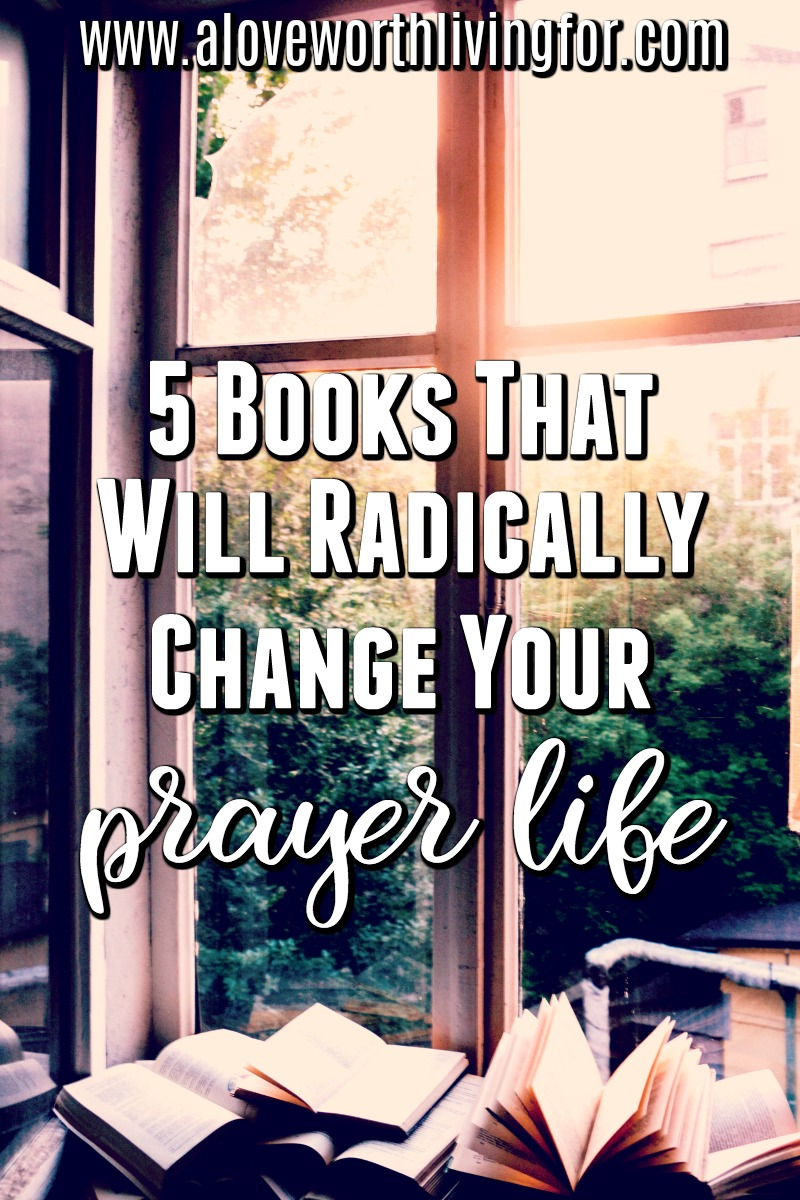 Do you crave a more consistent and intimate prayer life? Would you love to love prayer as much as some of the people around you? These 5 books completely changed the way I pray and I am sure they will have the same effect on you.