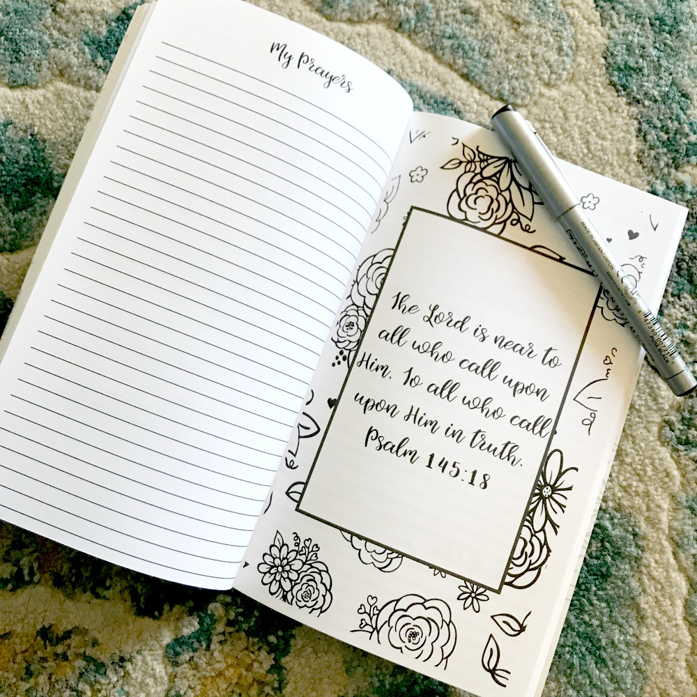 Intentional Prayer Journal: 30-Day Prayer and Reflection Journal by A Love Worth Living For