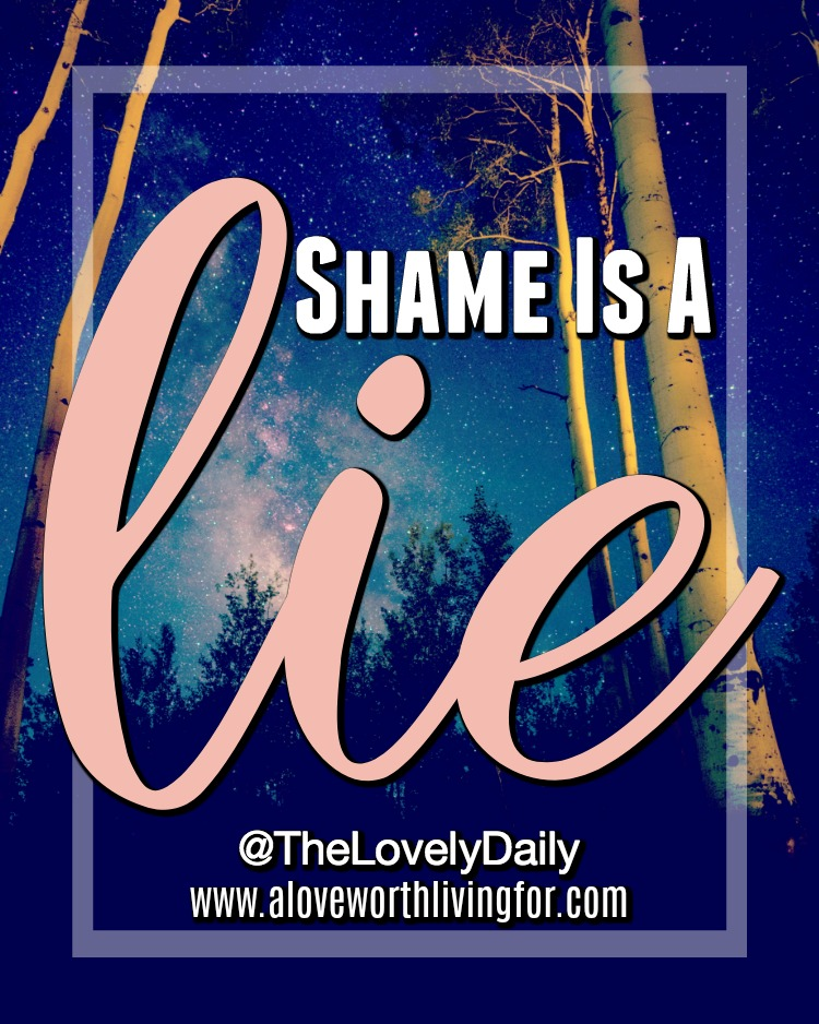 We all have those lies that show up and tell us all that we are not, but what does the Bible tell us about shame and how can we live free from shame and condemnation all together? Here are some things to  conducer next time shame comes calling.