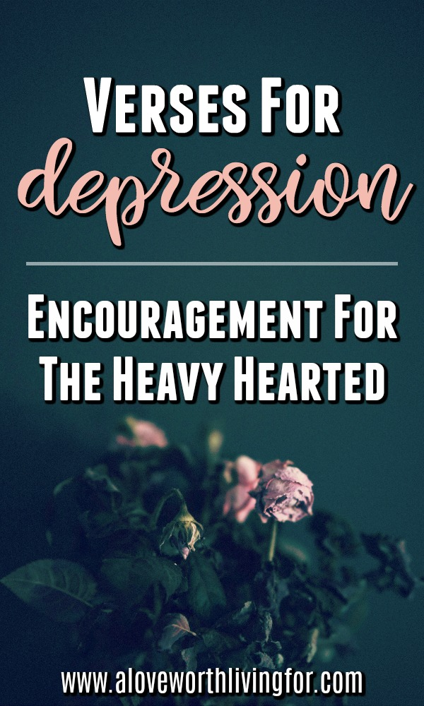 For a circumstance so common, we talk about it so little. Ironically the Bible has lots to say about depression and sadness. Low seasons find us all and we have to be ready and equipped to endure and triumph when life gets dark. Here are a few of my favorite verses for depression.