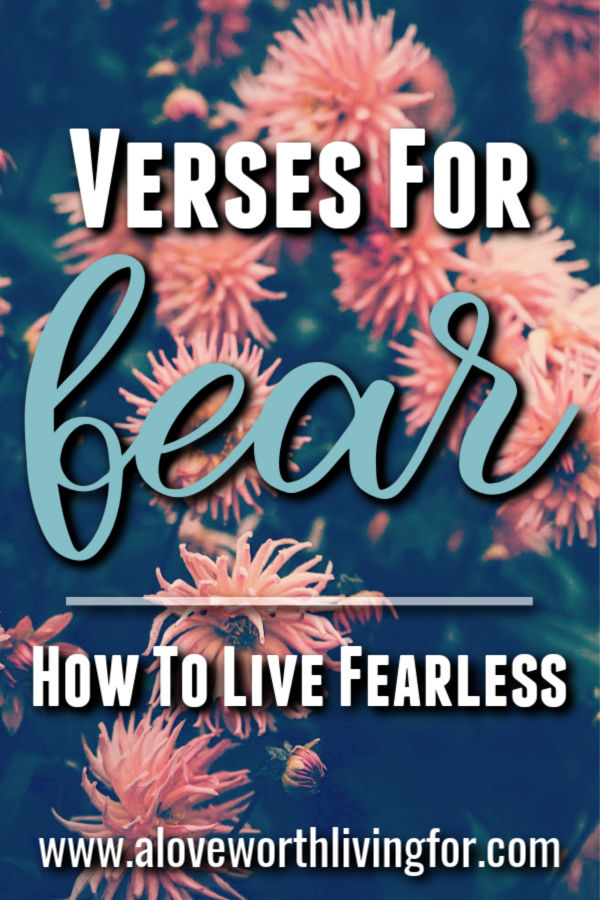 With all of the uncertainties life can bring our way it's no wonder fear can be such a struggle. The good new is that there are tons of scriptures for fear and anxiety that we can look to and find hope and security. #fearless #scripturesfor #biblestudy