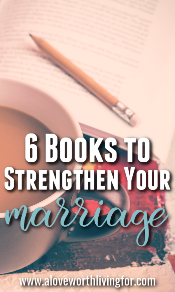 Some of these books aren't even marriage focused. Nevertheless these are the best marriage books I have ever read because they gave us tools and resources that have enabled us to fight well and to foster connection within our relationship. These books changed my marriage and they are sure to strengthen yours as well!