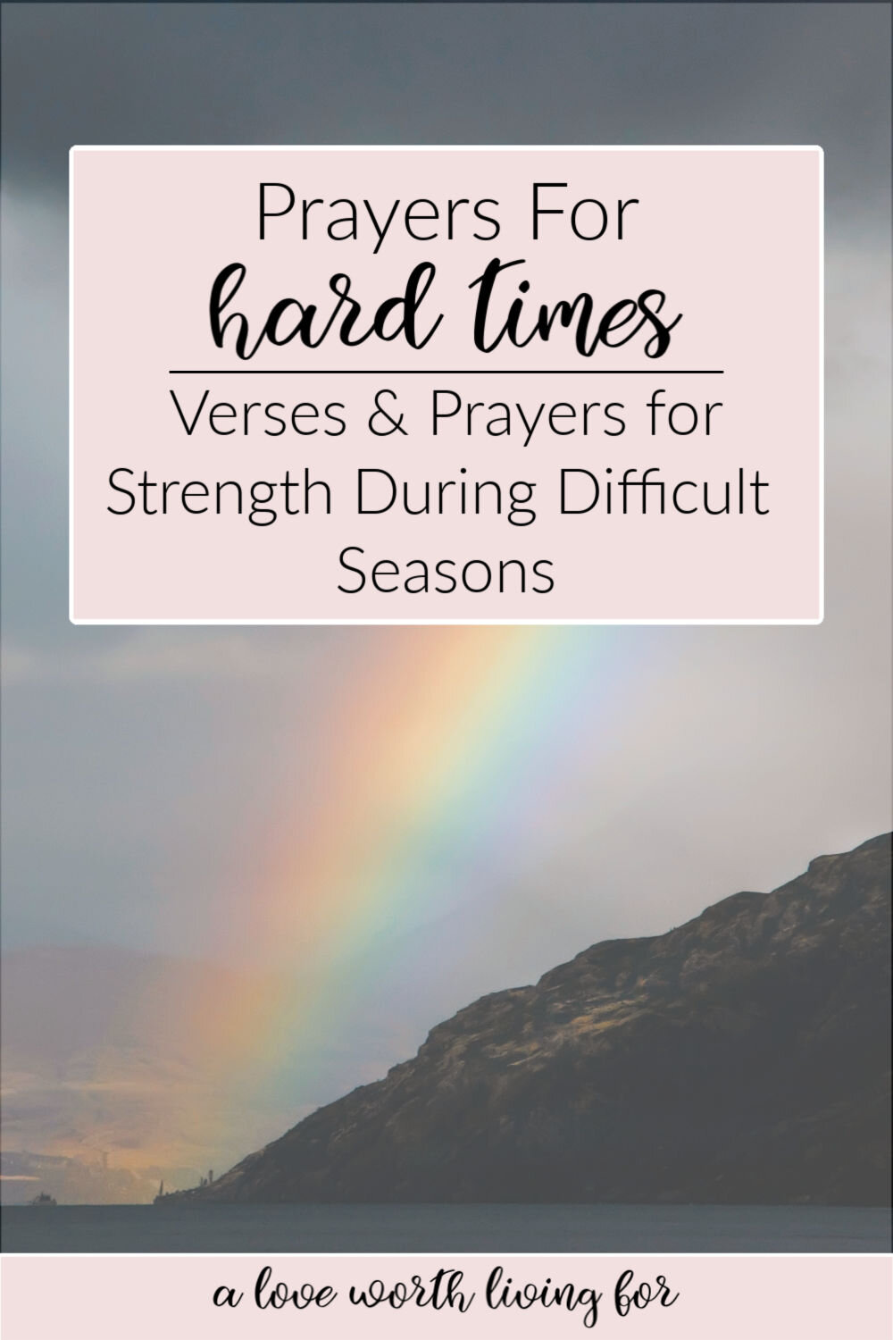 Trusting difficult scripture times during god Finding Hope