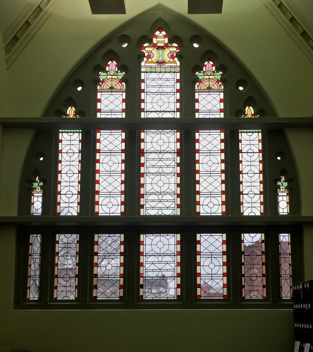 East Window Interior View Completed
