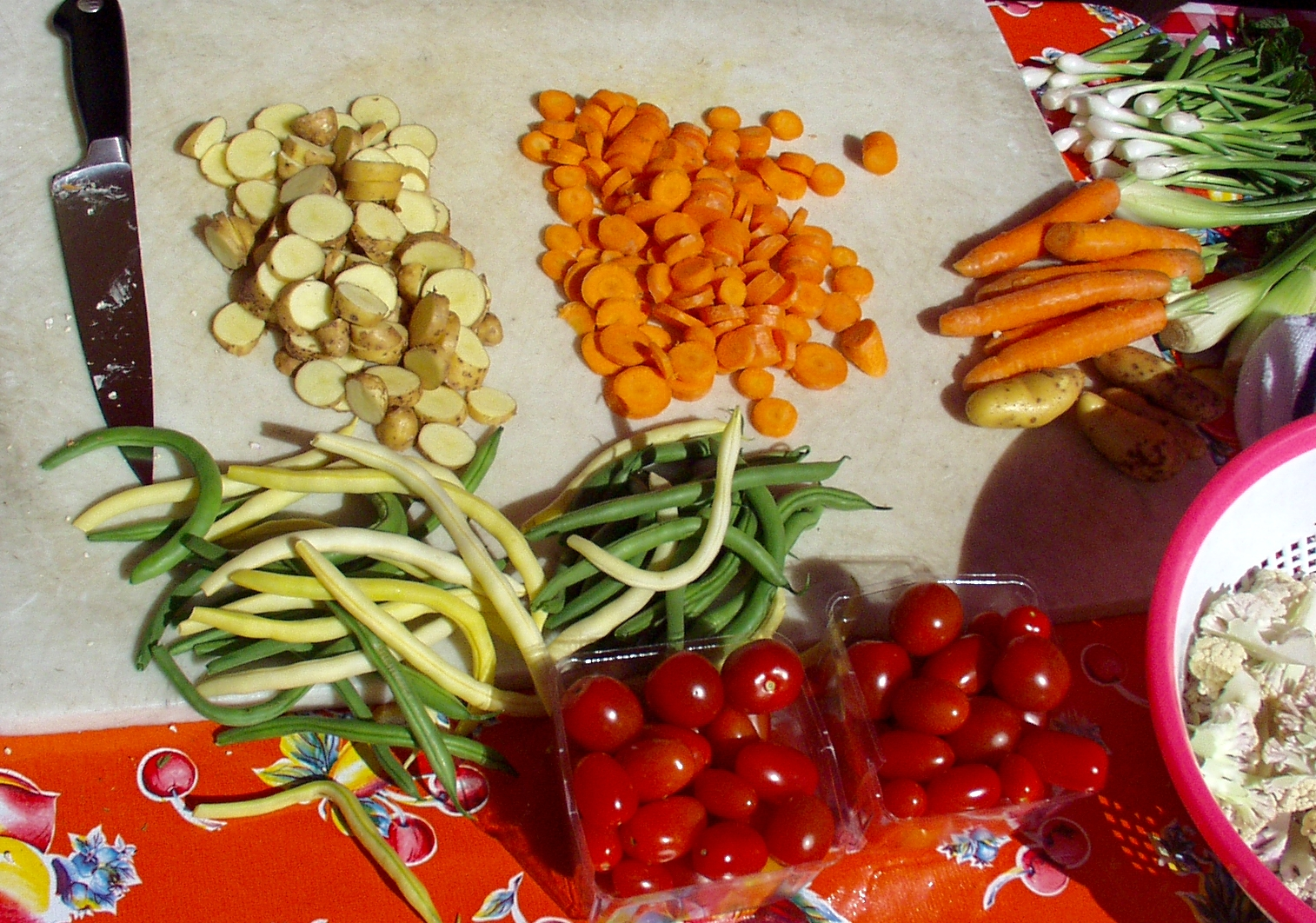 Having all your ingredients ready in advance makes the cooking run smoothy. Photo copyright 2009 by Zachary D. Lyons.