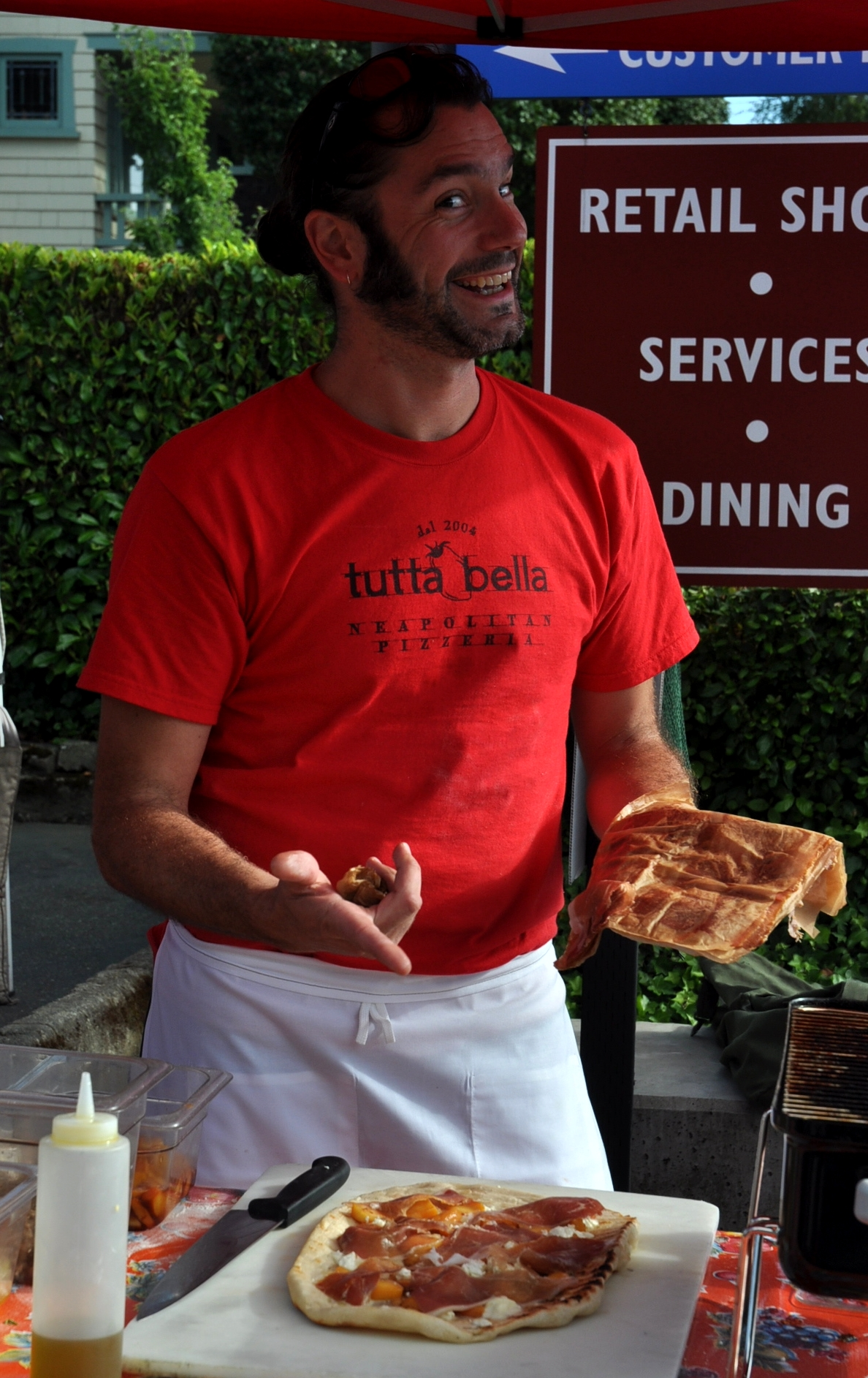 Chef Brian Gojdics from Tutta Bella. Photo copyright 2010 by Zachary D. Lyons.