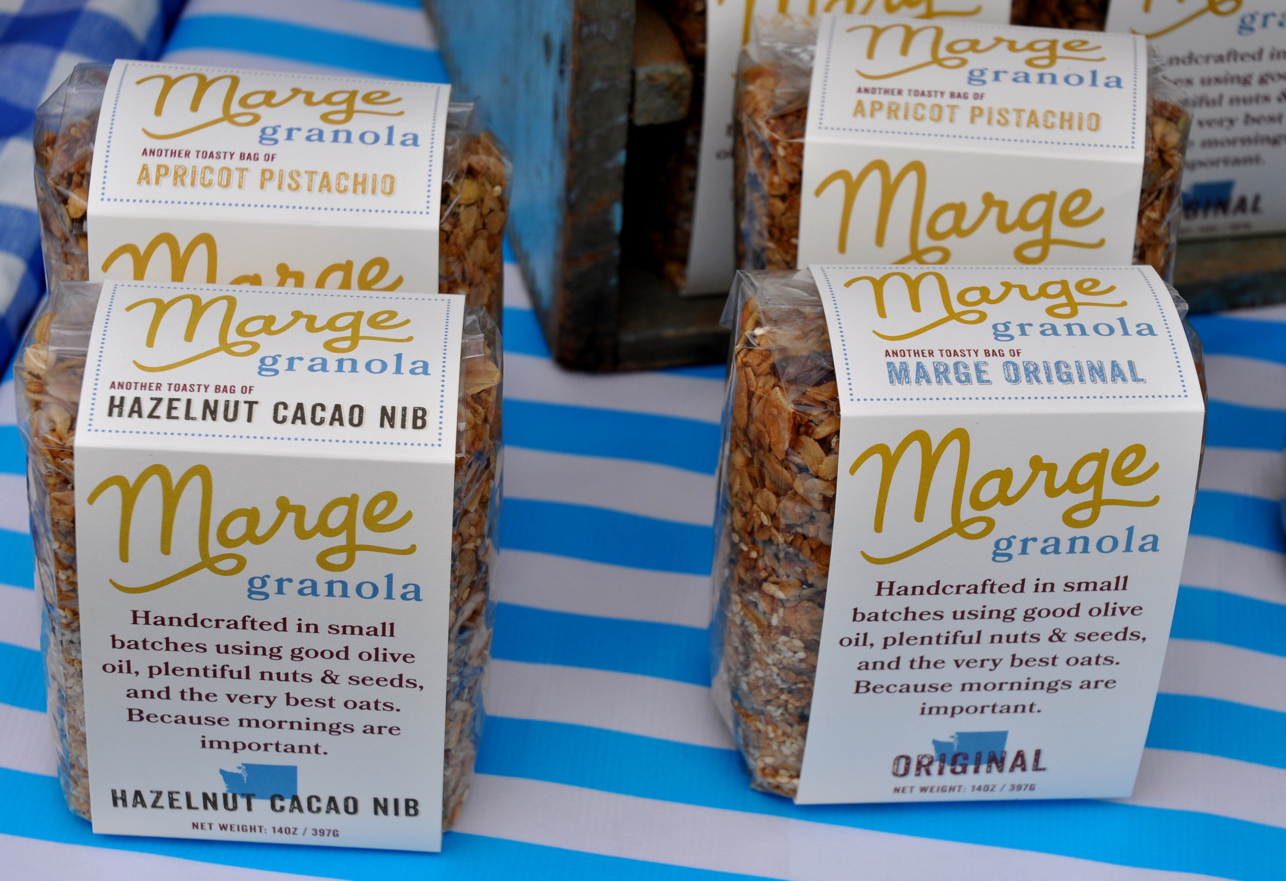 Marge Granola. Photo copyright 2013 by Zachary D. Lyons.