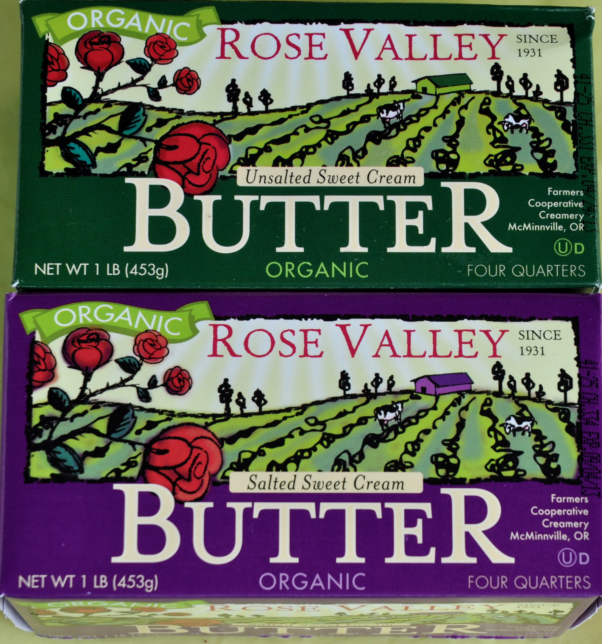 Butter from Rosecrest Farm. Photo copyright 2013 by Zachary D. Lyons.