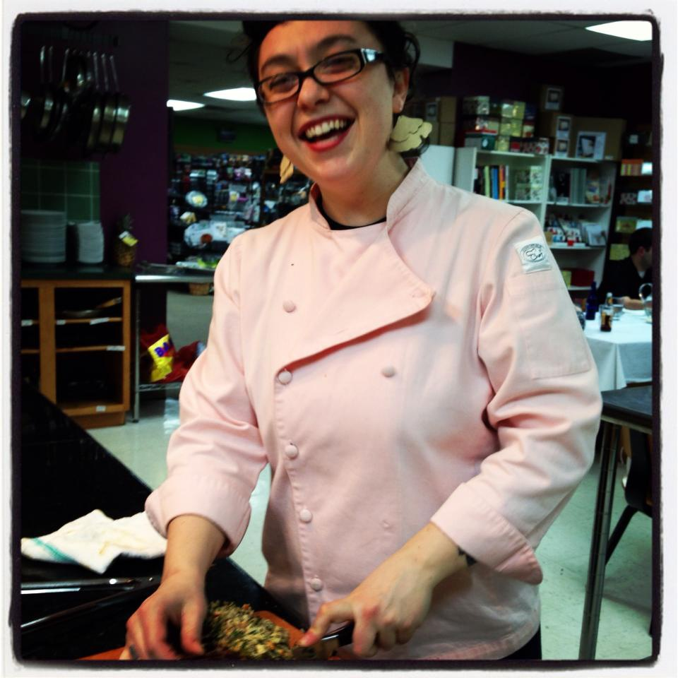 Chef Clara Moore, from Knife For Hire Picnic Foods.