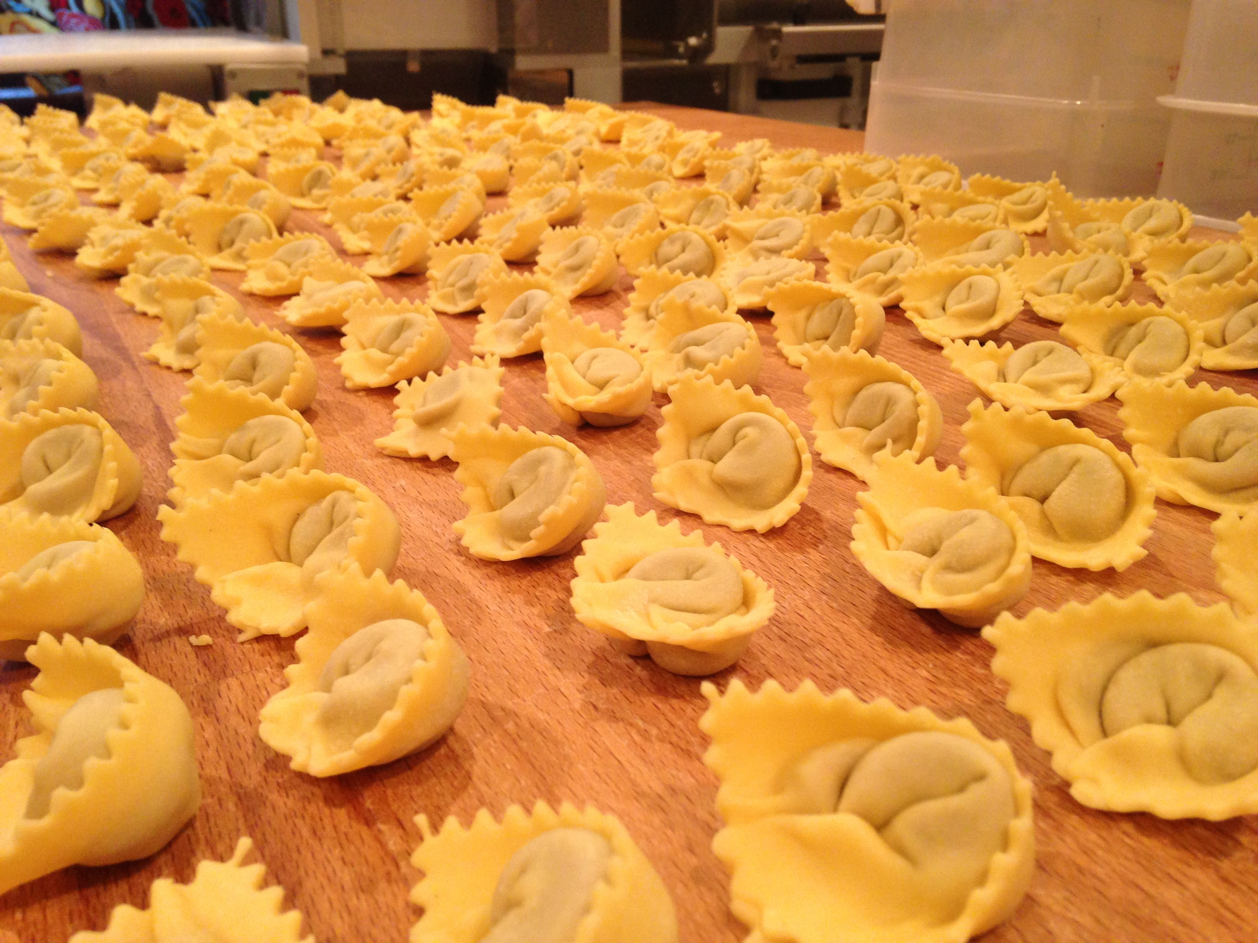 Beef-porcini cappelletti from Pasteria Lucchese. Photo courtesy Pasteria Lucchese.