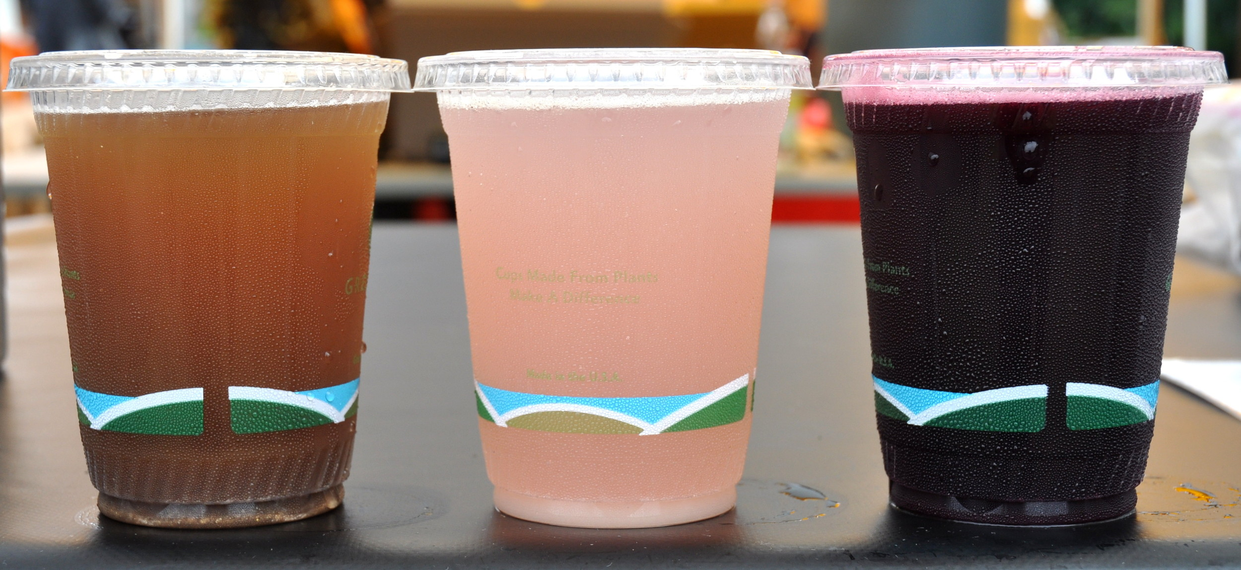 Summer flavors from Soda Jerk Soda. Photo copyright 2014 by Zachary D. Lyons.
